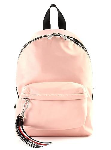6bbd9a5e TOMMY HILFIGER Tommy Jeans Logo Mini Backpack Satin Rose Cloud ...