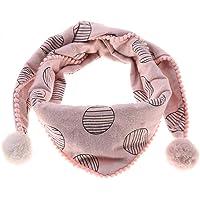 Bufanda de algodón de invierno para niños, bufandas de pañuelo para el cuello con anillo en O para niños pequeños, niñas…
