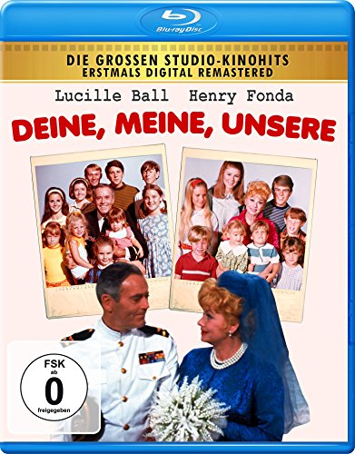 Yours, Mine and Ours ( Yours, Mine & Ours ) [ NON-USA FORMAT, Blu-Ray, Reg.B Import - Germany ]