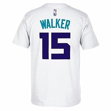 Adidas Hombres de la Kemba Walker Charlotte Hornets Reproductor T-Shirt