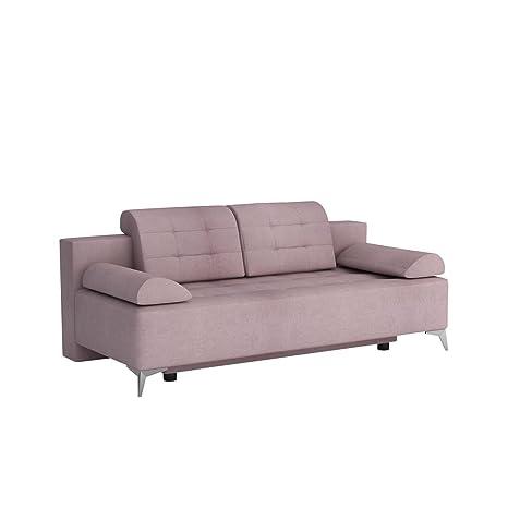 Mirjan24 Sofa mit Bettkasten und Schlaffunktion Modo, Couch ...