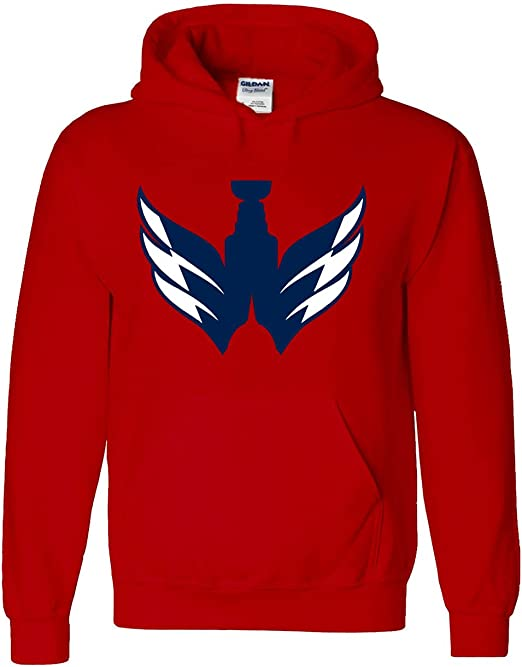 RED Washington Ovechkin Ovie Pic Hooded Sweatshirt