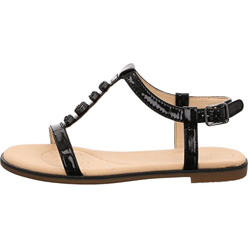 89684b5a60a Clarks Bay Blossom Womens Metallic Sandals  Amazon.co.uk  Shoes   Bags