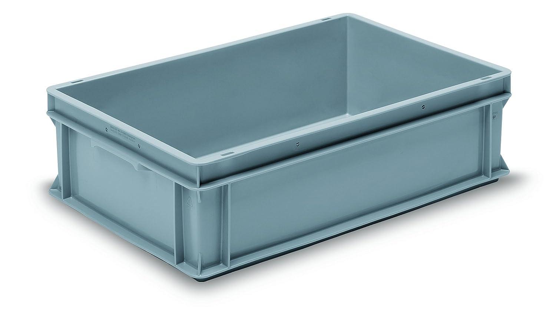 GCIP-RAKO GC604017P Container, Rako, PP, 600 mm x 400 mm x 170 mm, Grey GCIP-UTZ