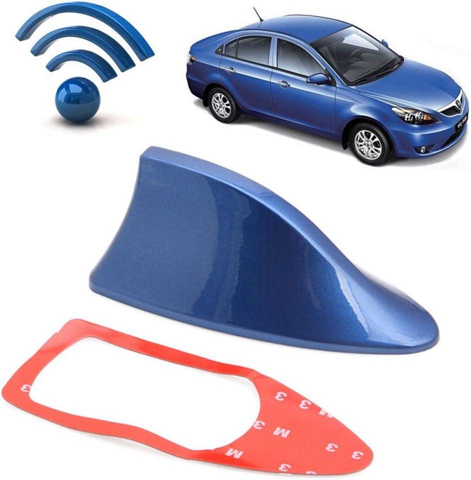BAAQII Antenne De Voiture Universel Antenne De Requin Aileron Radio Signal Auto Radio De Toit Antenne AM FM Signal /Étanche Auto SUV Camion Van