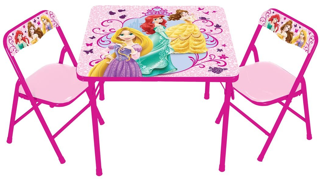 Amazon.com: Disney True Princess with Activity Table Set: Toys & Games