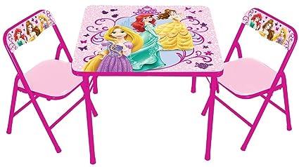 Amazon.com: Disney True Princess with Activity Table Set: Toys & Games