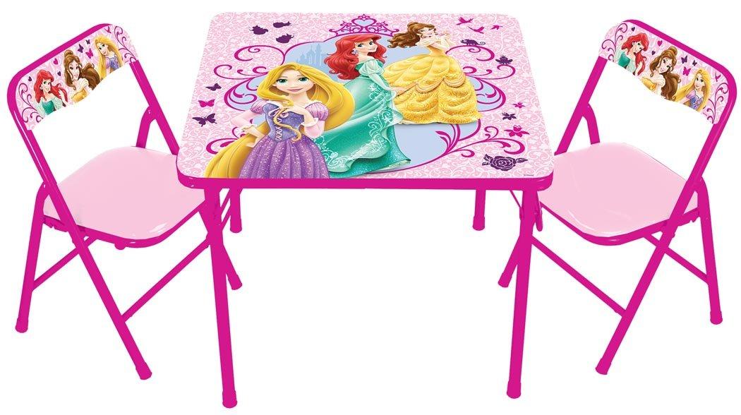 Disney True Princess with Activity Table Set