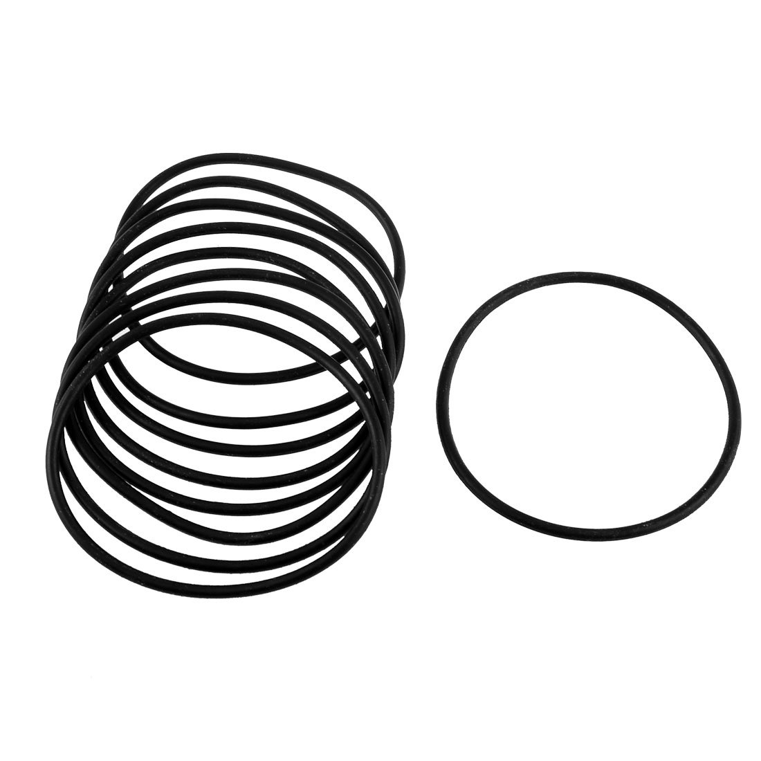 10 Stü ck Black Rubber 75 mm x 3 mm Oil Seal O-Ringe Dichtungen Unterlegscheiben Sourcingmap a13030700ux0486