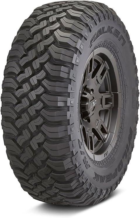 1 New 35X12.50R17LT Falken Wildpeak MT Tire 10 Ply E 121Q