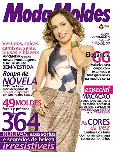 Moda Moldes 47 (Portuguese Edition) by [Editora, On Line]