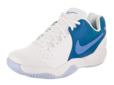 the latest 4bb9d 7d13e Nike WMNS Air Zoom Resistance, Sneakers Basses Femme, Multicolore  (White Monarch Purple