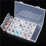 プレミアム ジュエリーボックス 高品質アクセサリー収納 小物収納ケース 透明ボックス 頑丈な整理箱 パーツ入れ ジュエリー 釣りフック ビーズ収納 小物 雑貨入れ 便利