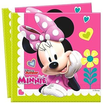 Disney Minnie Mouse - Fiesta de Cumpleaños Servilletas 20 ...