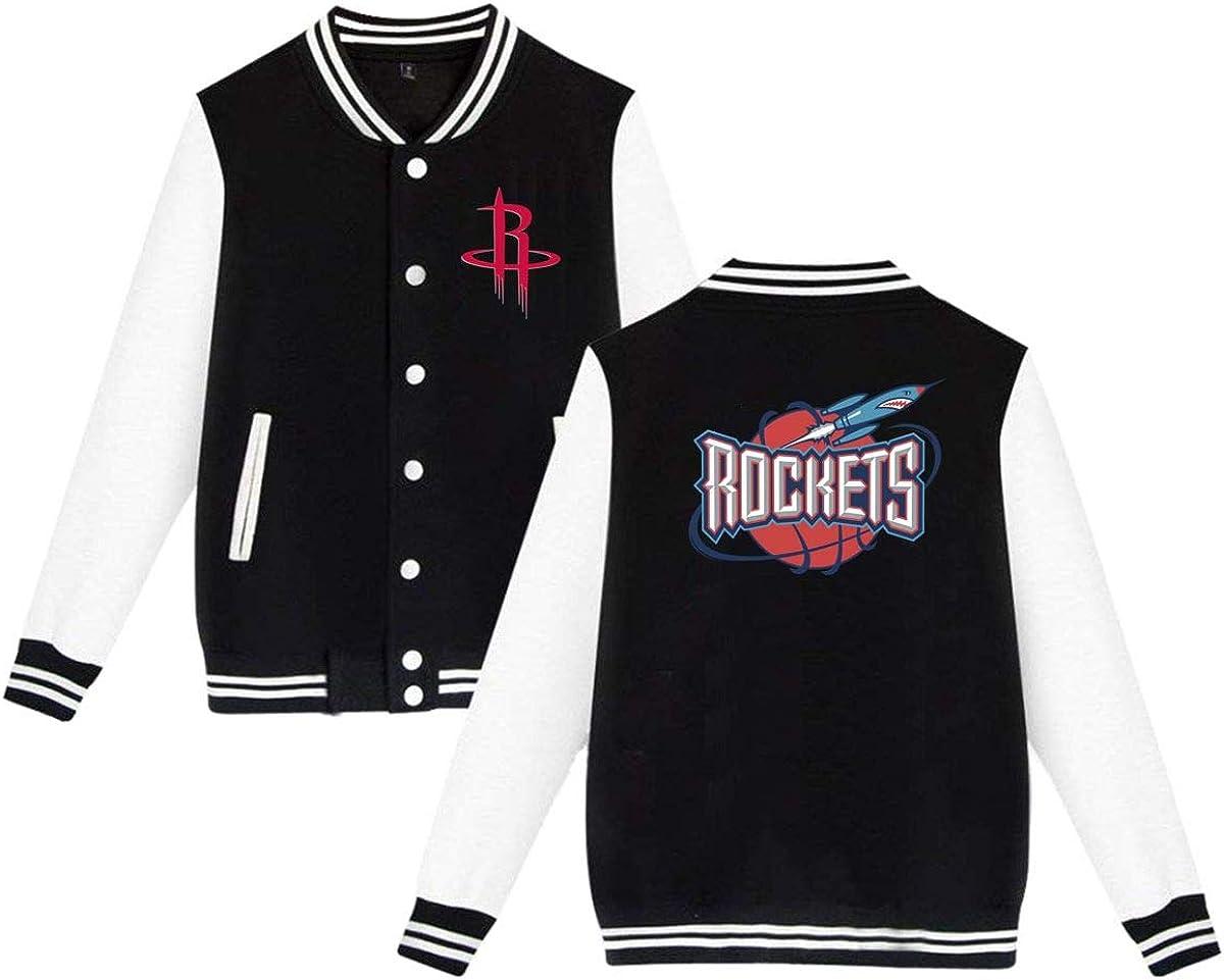 Houston Rockets Mens Fit Baseball Jackets Bomber Coats