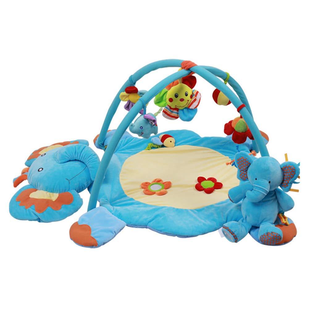 diseño único Mr. Fragile Gimnasios Gimnasios Gimnasios para bebé, Alfombras de Juego con Música y Sonidos y Juguete de Elefante, para Bebés Recién Nacidos de 0 a 24 Meses de Regalo para Bebés, 110  85  60 cm  garantía de crédito