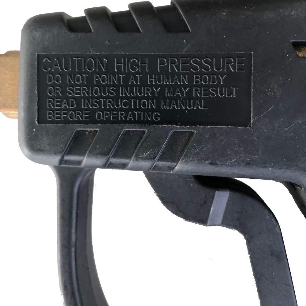 Au/ßengewinde Hochdruckpistole Strahlrohr 0,9 Meter f/ür K/ärcher /& Kr/änzle mit 045 D/üse vorindstalliert Profiqualit/ät Gesamtl/änge 1,1 Meter M22 AG Pistole