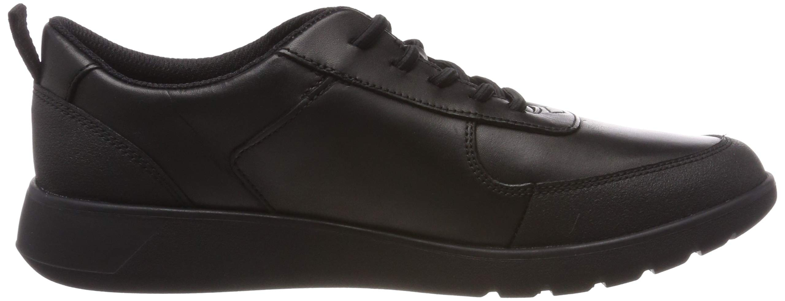 CLARKS Boys' Scape Street Y Brogues, (Black Leather-), 3 UK by CLARKS (Image #6)