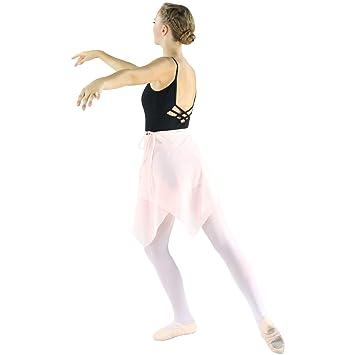 Danzcue Mujer Falda de Abrigo la Danza Ballet asimétrica Pequeña ...