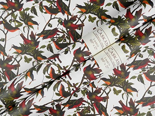 Bunting Wrap (Caskata Studio Rolled Gift Wrap, Painted Bunting (CAS14080))