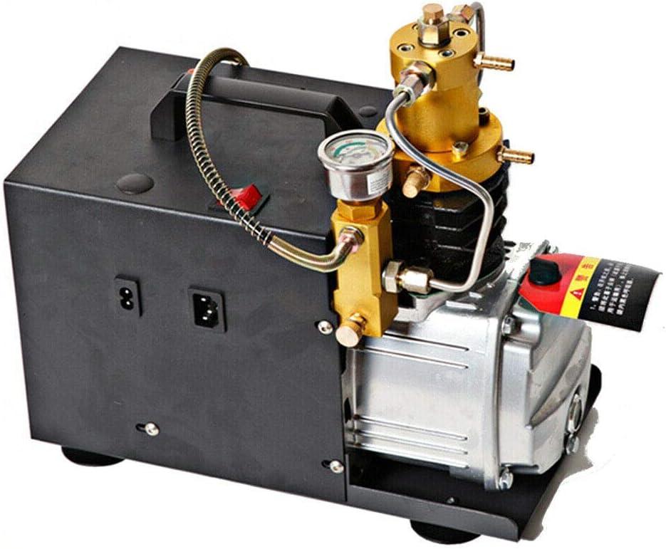 Compresor de aire PCP de bomba eléctrica, 220 V, 4500 psi, para pistolas de aire paintball