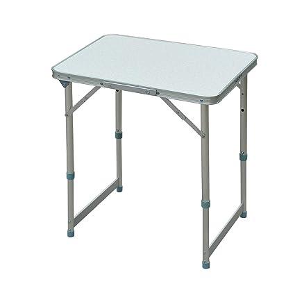Amazon.com: Mesa de aluminio plegable Outsunny, para acampar ...