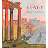 Italy: Vintage Travel Posters 2017 Wall Calendar