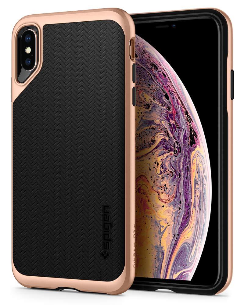 Spigen Neo Hybrid Designed for iPhone Xs Max Case (2018) - Gold