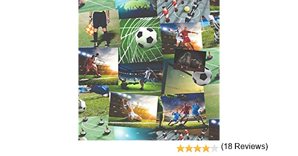 BHF fd41915 novedad Fútbol Collage papel pintado – Multicolor (2 ...