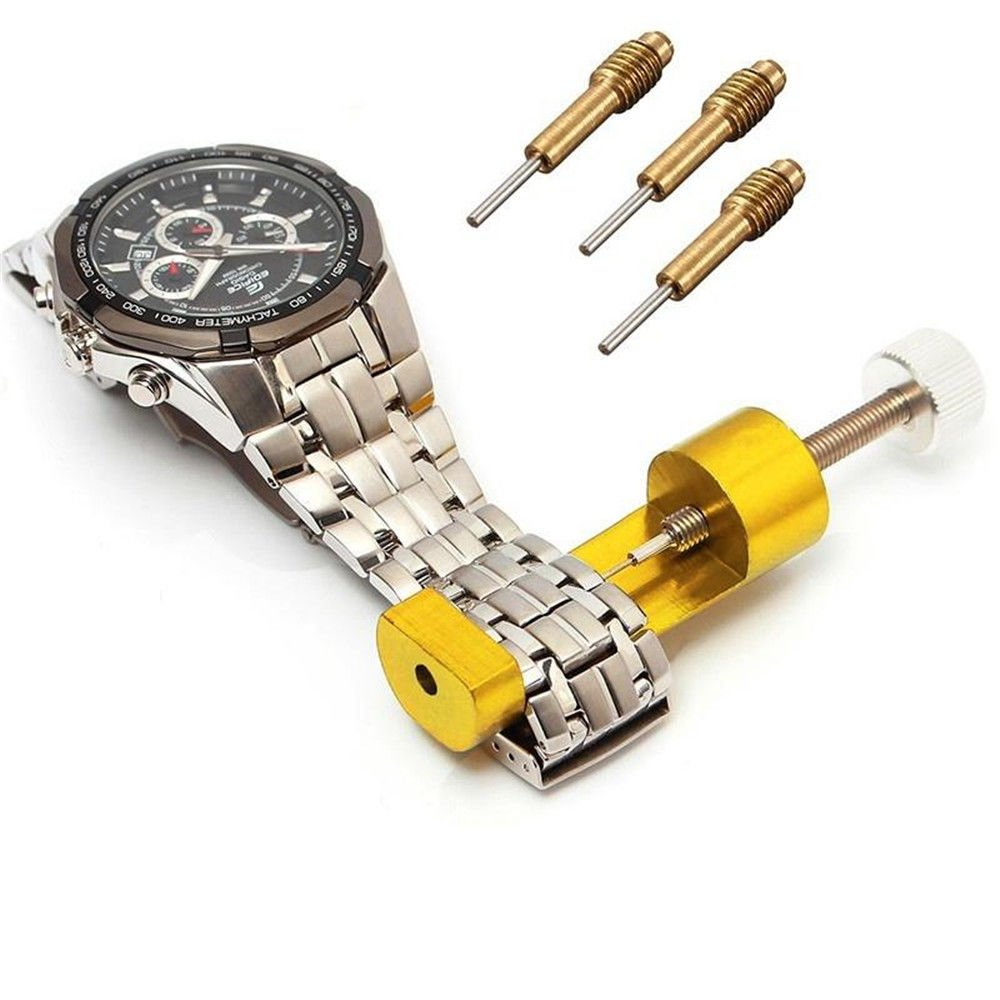 Aranher(TM) 69mm Length Metal Watch Band Bracelet Link Pin Remover Strap Adjuster Tool