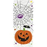 Cellophane Pumpkin Pals Halloween Party Bags, Pack of 20