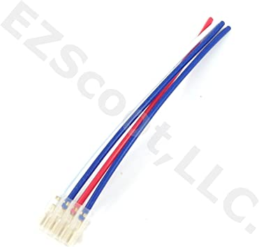 Amazon.com: 4 WIRE SWITCH ELECTRIC WIRE CABLE PLUG CONNECTOR FOR SCOOTER  MOPED ATV SWITCH GY6 CHINESE SCOOTER TAOTAO ROKETA JONWAY JMSTAR SUNL TANK  JCL BAJA ZNEN PEACE KEEWAY HERITAGE FIRENZE BENZHOU SSRAmazon.com