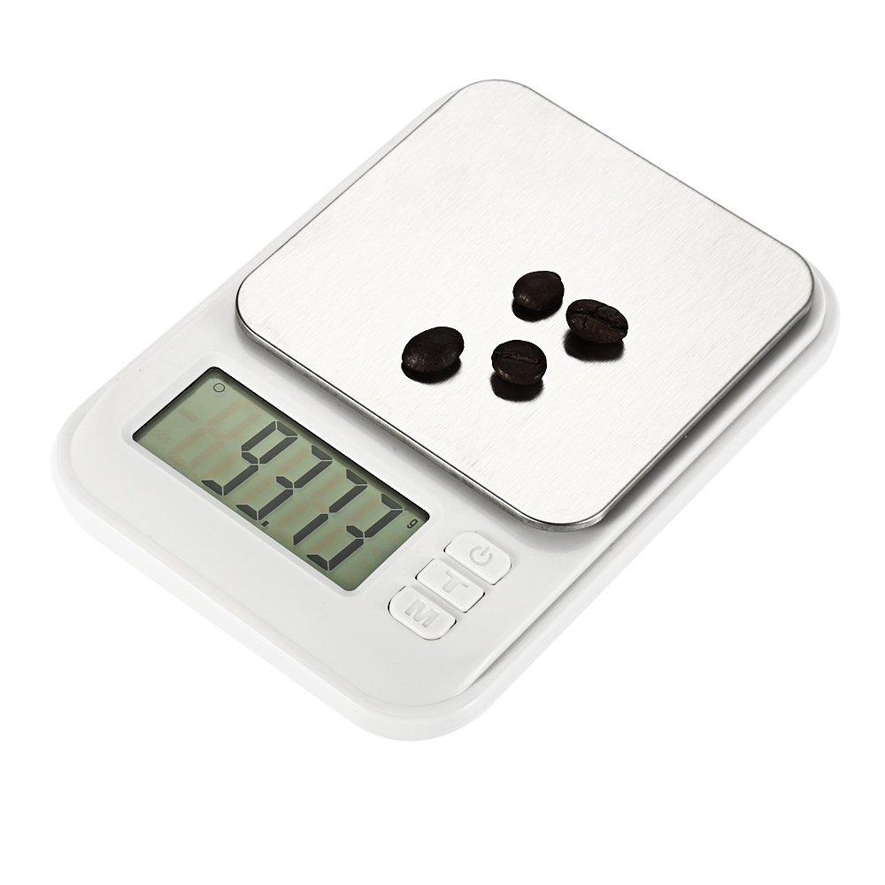 RETYLY Balance /électronique Mh-882 600G x 0.01G Haute Pr/écision Num/érique /électronique Portable Cuisine Or//Argent Acide Kit Testeur De Bijoux Testeur