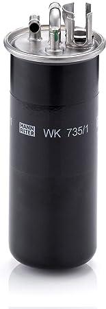 Original Mann Filter Kraftstofffilter Wk 735 1 Für Pkw Auto