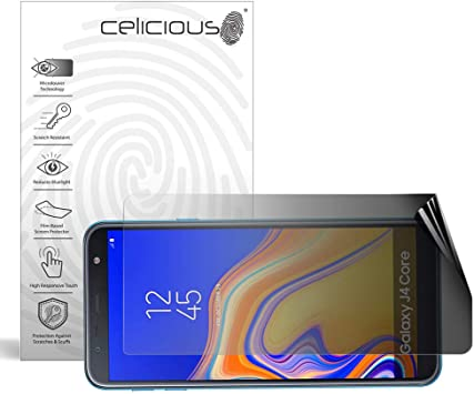 Celicious Privacy 2-Way Anti-Spy Filter Screen Protector Film Compatible with Samsung Galaxy View 2 2019