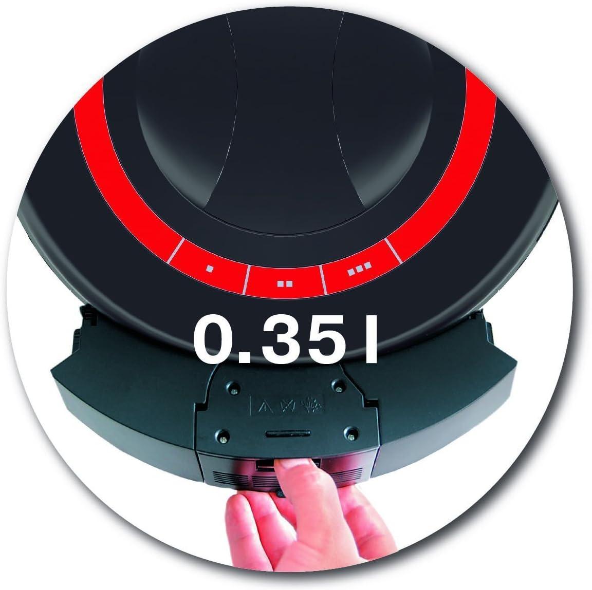 Vileda VR301 Saugroboter mit Ladestation Hinderniserkennung und Zeitsteuerung