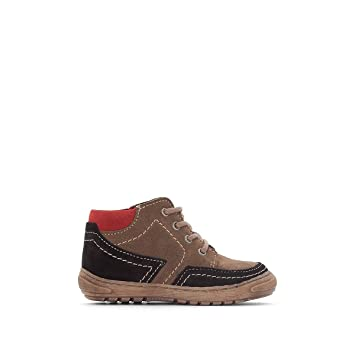 e8e0932faab0 Image Unavailable. Image not available for. Color  La Redoute Collections  Big Boys Leather Boots with Comfort Insole