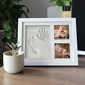 amazon com maggift baby footprint kit baby handprint kit white baby