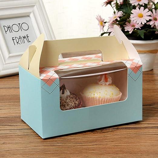 Cajas de panadería, 15 unidades, transparente, portables, caja ...