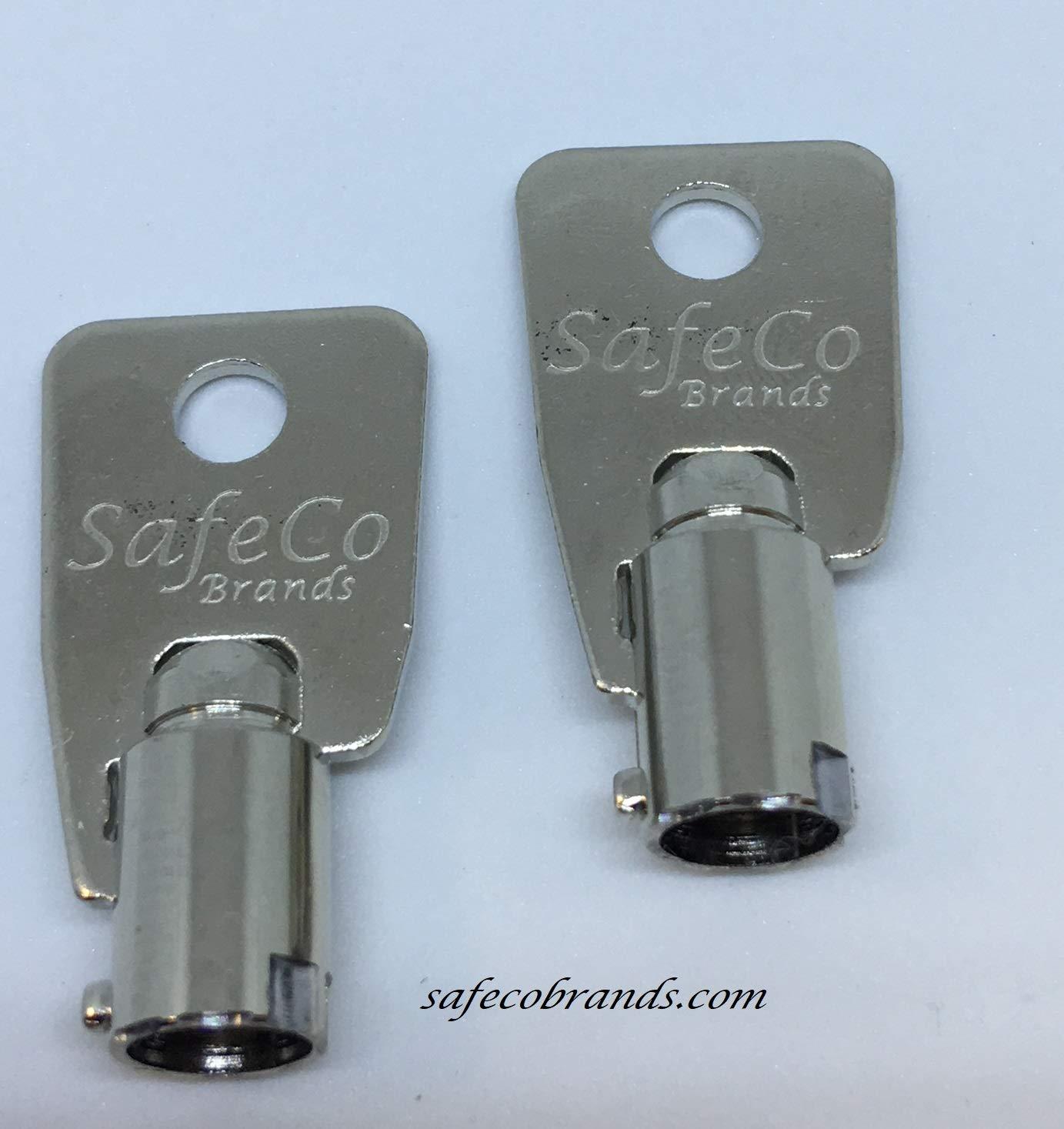 RVC Series Key Codes for Vending Machines, Locks, Switches 2-Keys (RVC204)