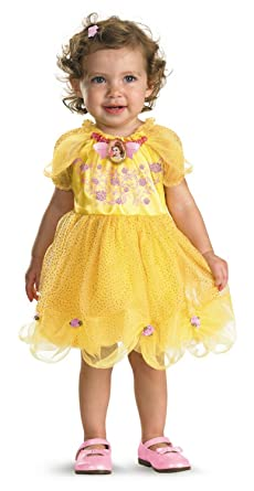 Disguise Baby Girls Disney Beauty And The Beast Belle Costume Yellow 12 18