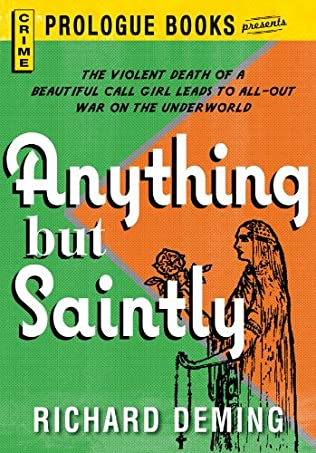 book cover of Anything But Saintly