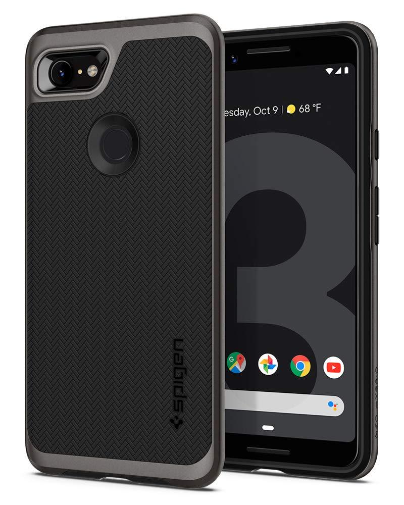 Funda Spigen Google Pixel 3 [Gunmetal] Neo Hybrid