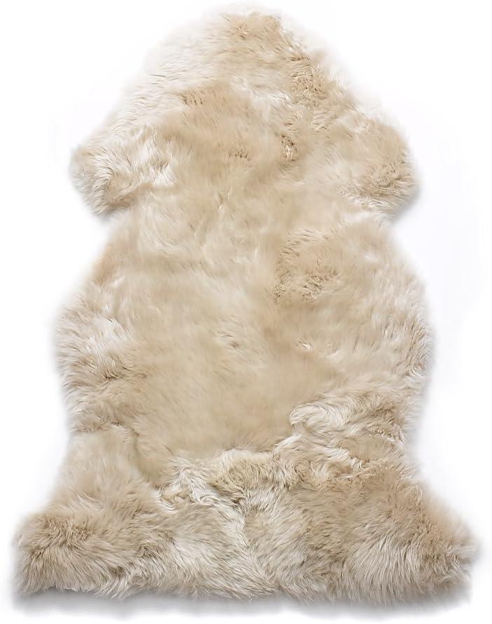 AUSKIN PREMIUM Sheepskin Rug Single Pelt Dark Linen