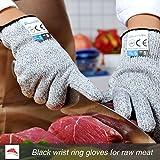 Dowellife Cut Resistant Gloves Food Grade Level 5