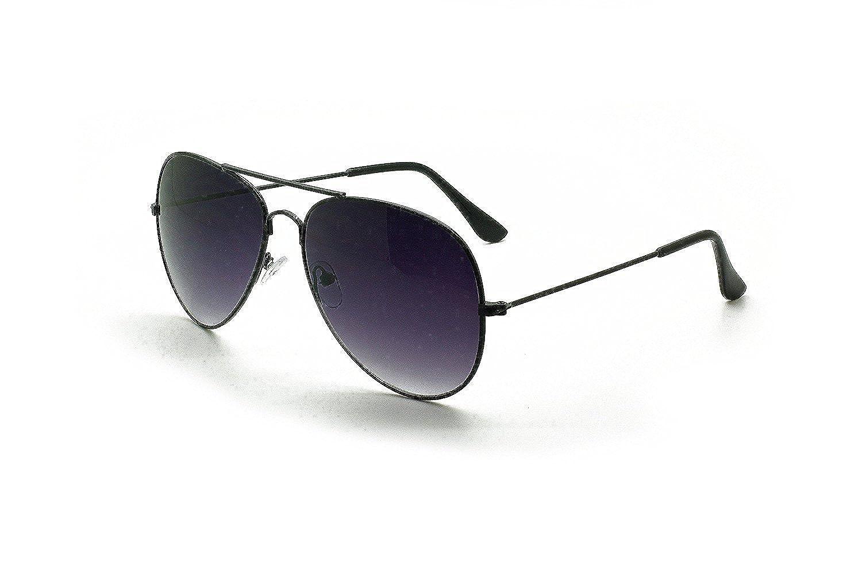Gafas de sol polarizadas estilo Aviator Mingbol con protección de UV400 y lentes espejadas para hombres y mujeres, Black frame/Black lens: Amazon.es: Ropa y ...