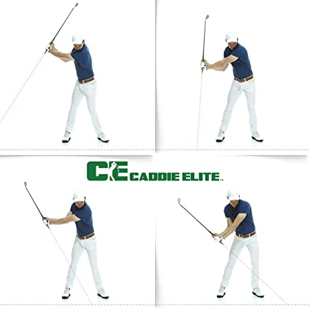 Caddie Elite Fix Your Swing in Seconds – Plane Sight Laser Golf Training Aid