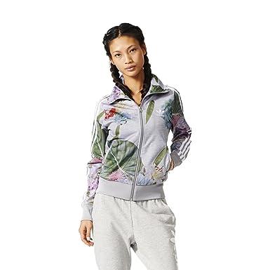 Jacket Women adidas Originals Floral Firebird Jacket: Amazon