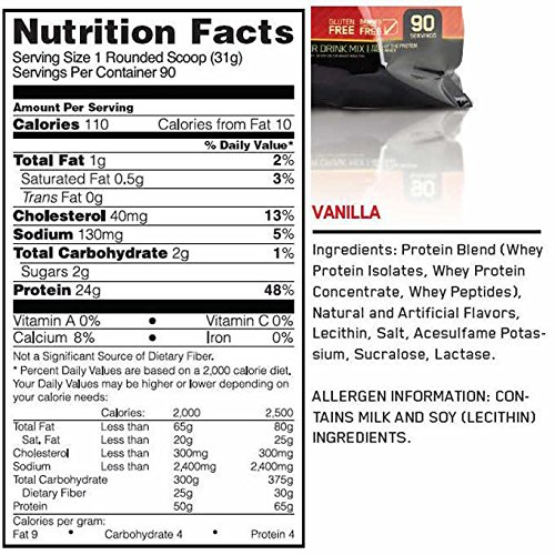 whey protein 100 gold standard how to use