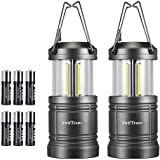 LED Camping Lantern, Swiftrans Lantern Flashlight Ultra Bright Survival Gear for Emergencies, Hurricanes with Magnetic…